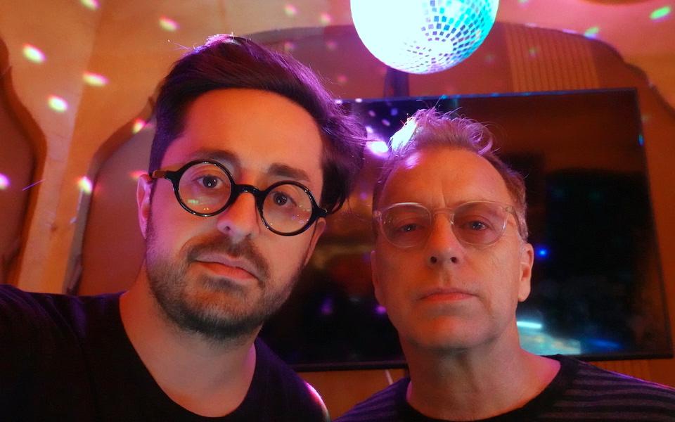 School Night co-founders Matt Goldman and Chris Douridas