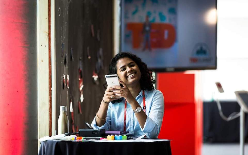 Hasiba Haq, Associate Producer at TED (photo courtesy of TED)