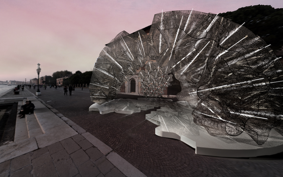 Image of final render for the Venice Biennale