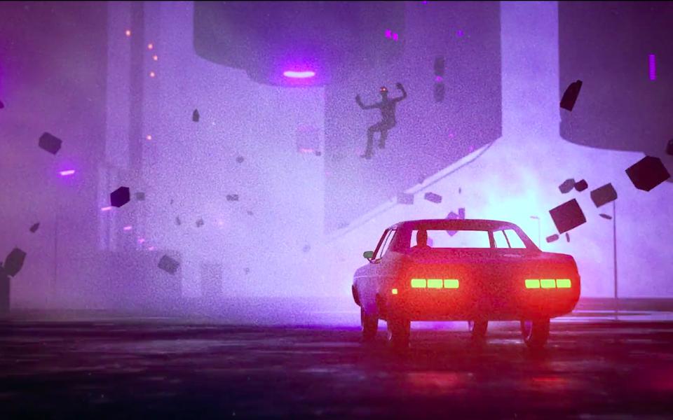 Screenshot of a motion design created by Fernando Lazzari