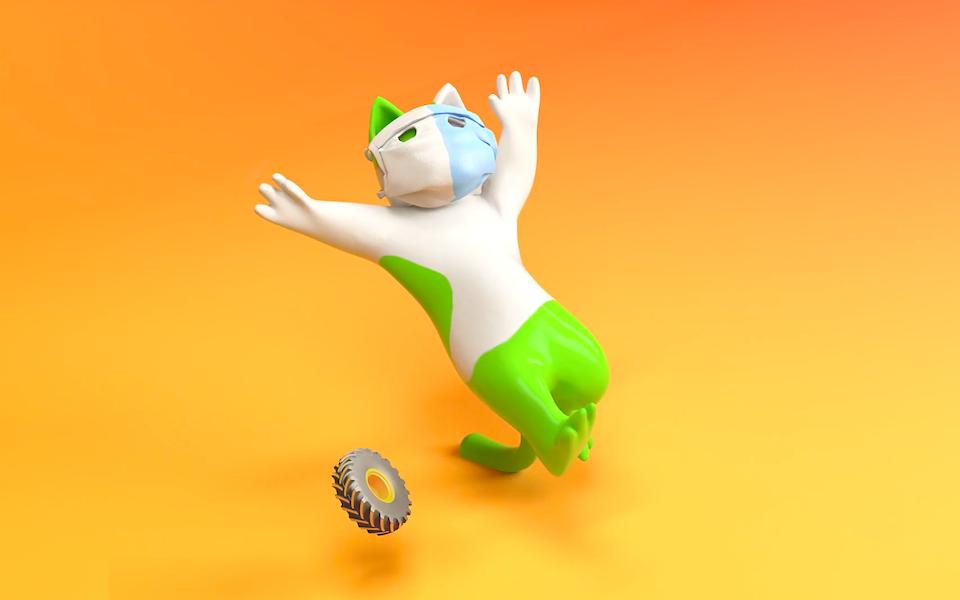 Screenshot of a motion design created by Hsi-Jen Liu