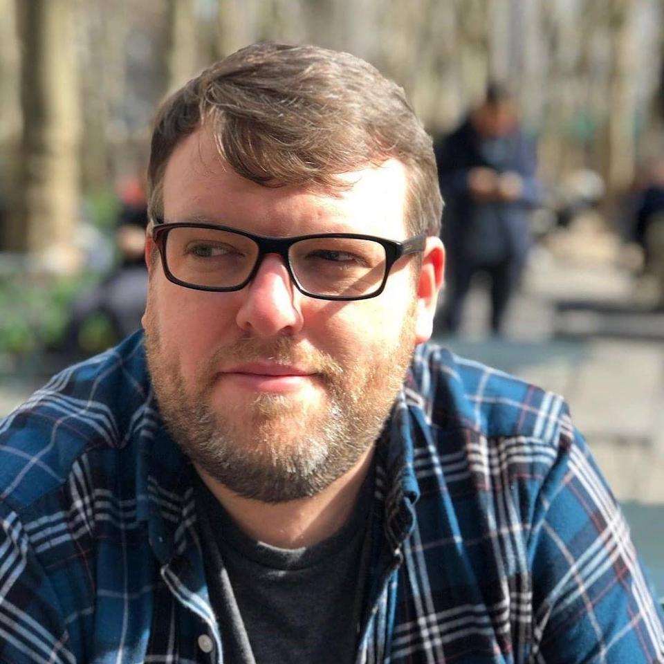 Photo of Steve Higgins, co-creator of Camflare