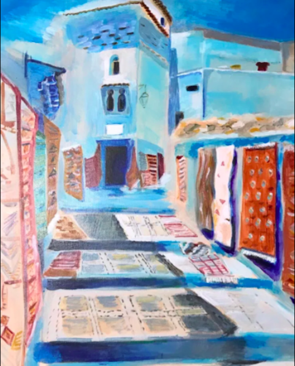 Photo of a painting by Li Jin
