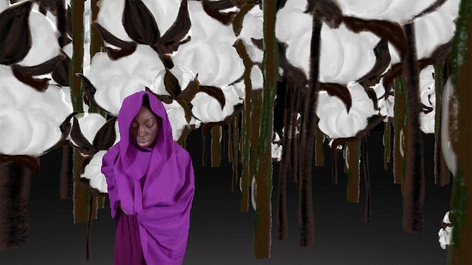 Still from the film Secret Garden