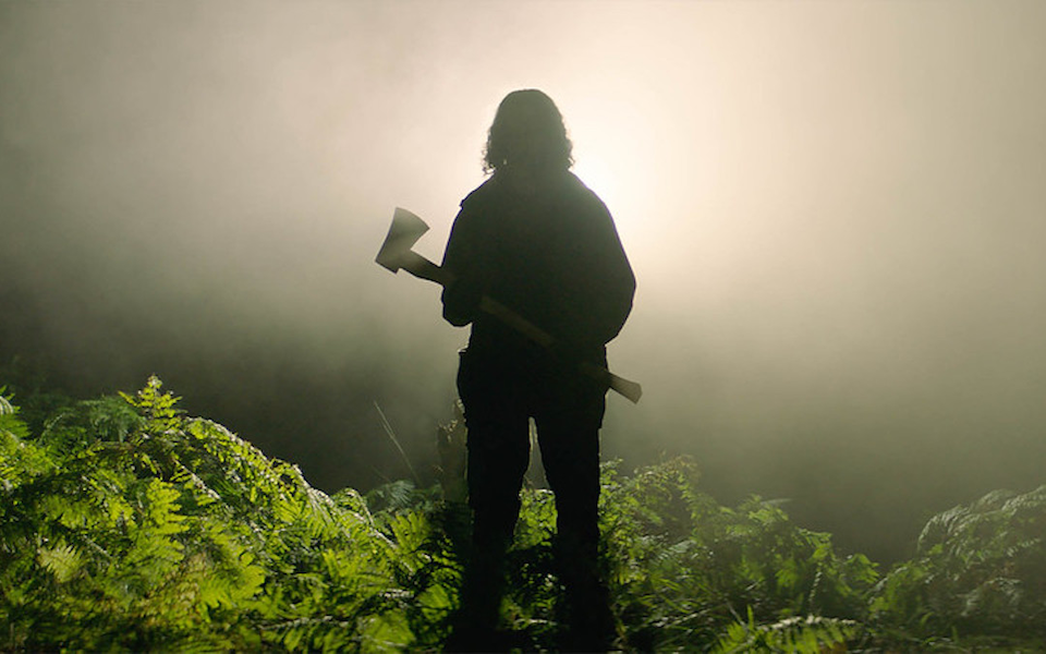 Still from the film In the Earth