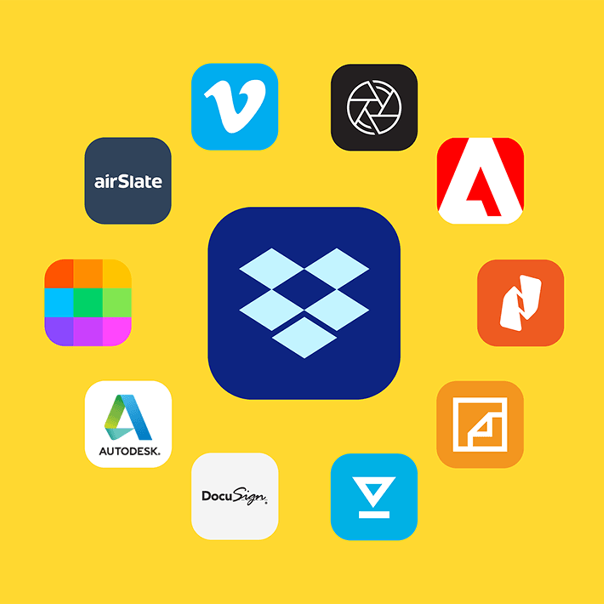 Announcing Dropbox Extensions with strategic and category