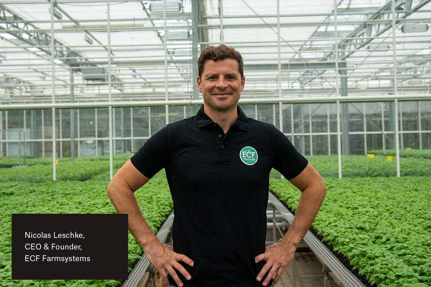 Nicolas Leschke, CEO and founder of ECF Farmsteads