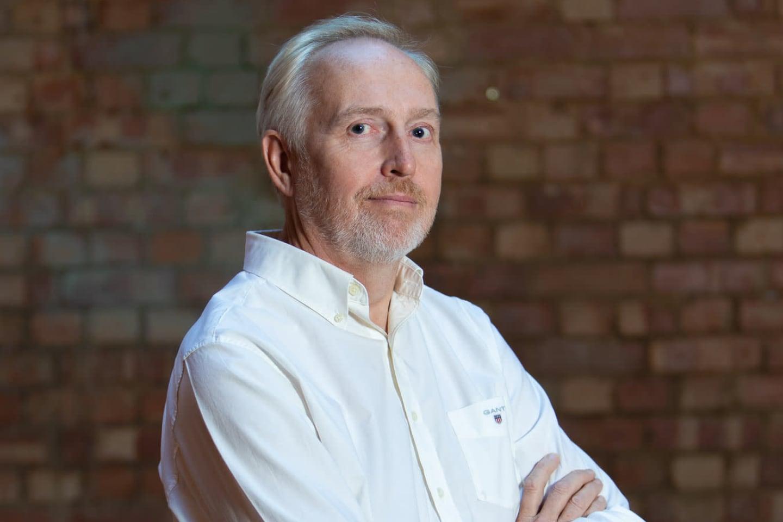 Dropbox を導入している、Agility in Mind の CEO アンドリュー・ジョーンズ氏の写真