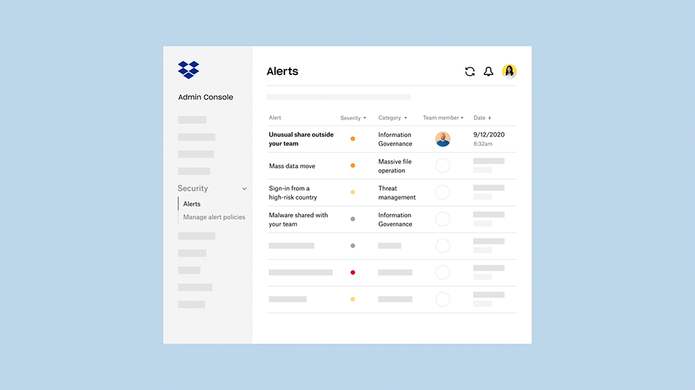 Announcement of new security features to help maintain employee privacy and security while managing complex distributed teams