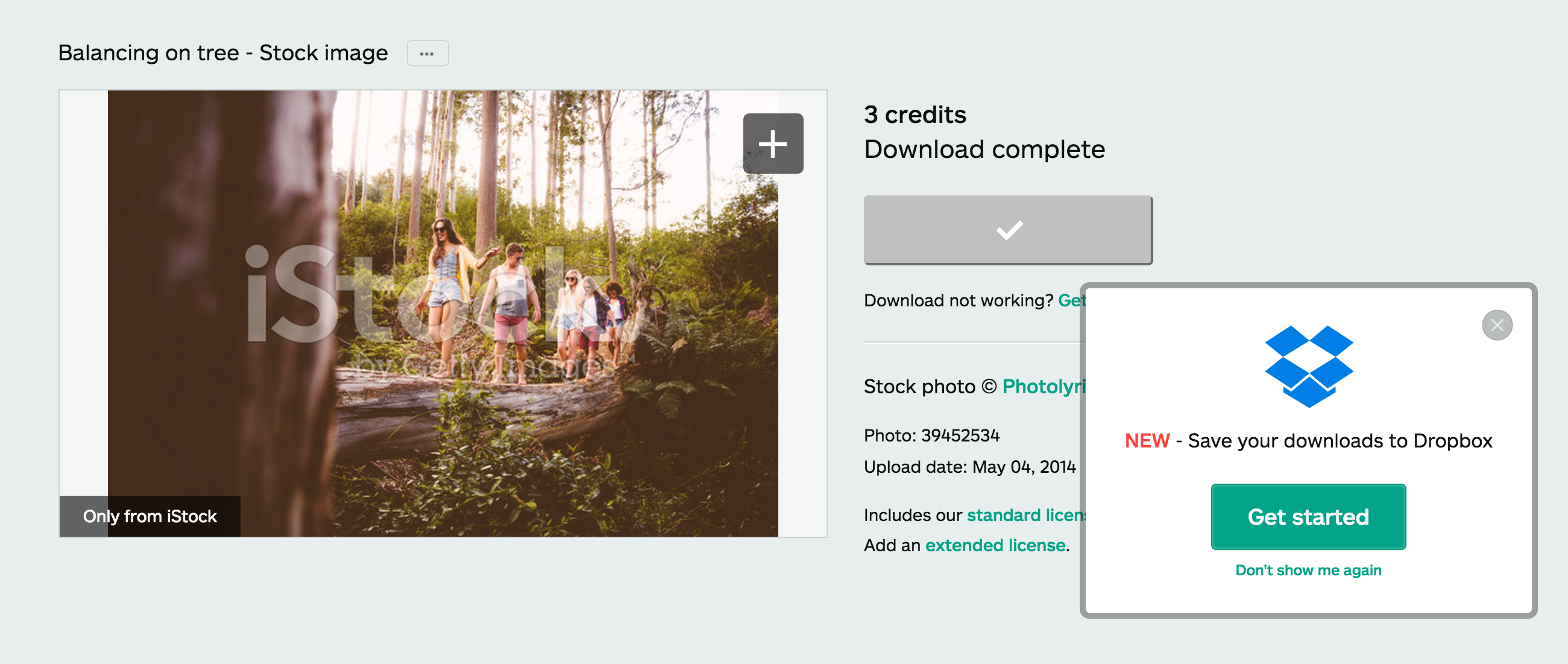 iStock screenshot 1