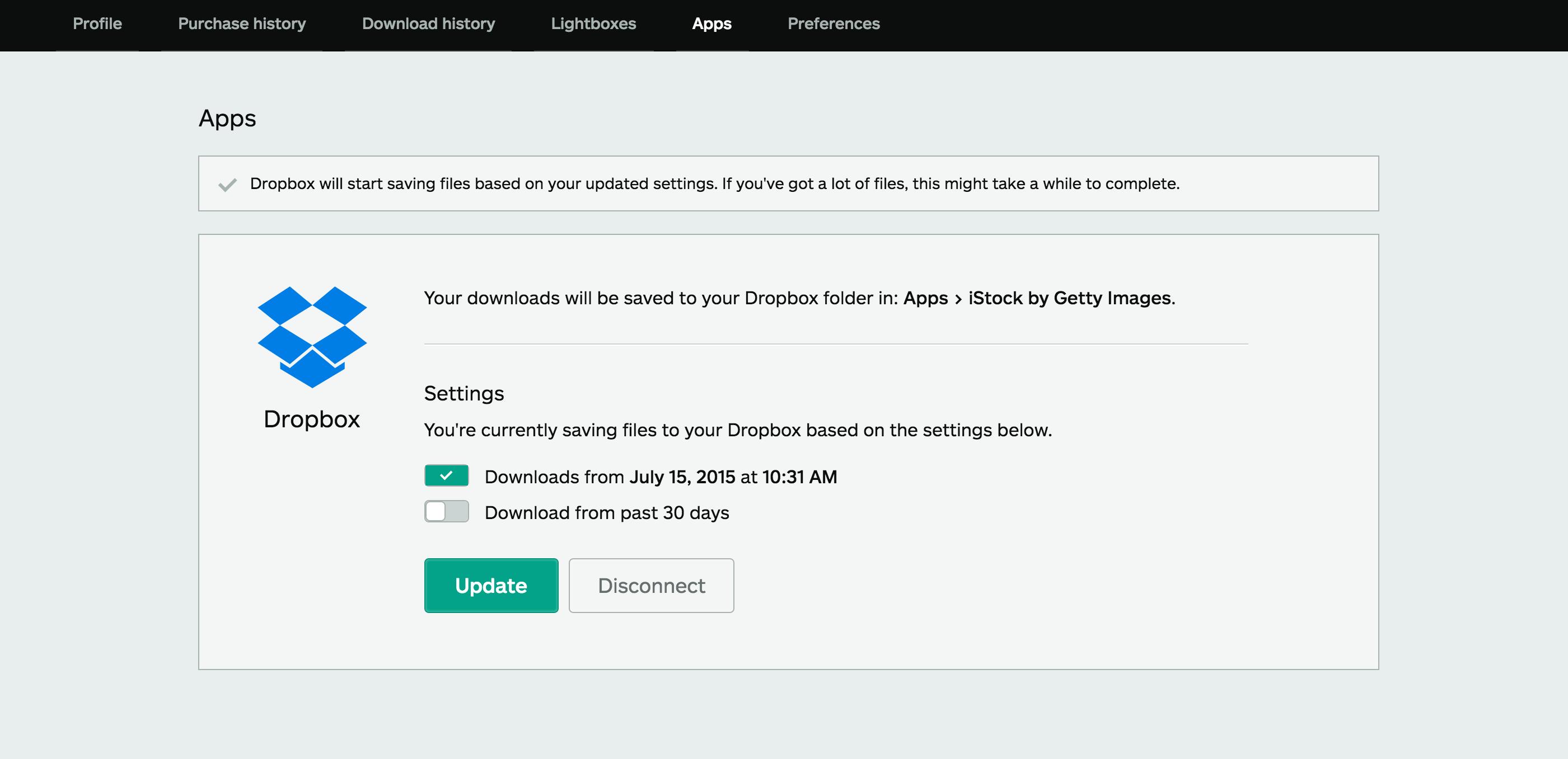 iStock 屏幕截图 5