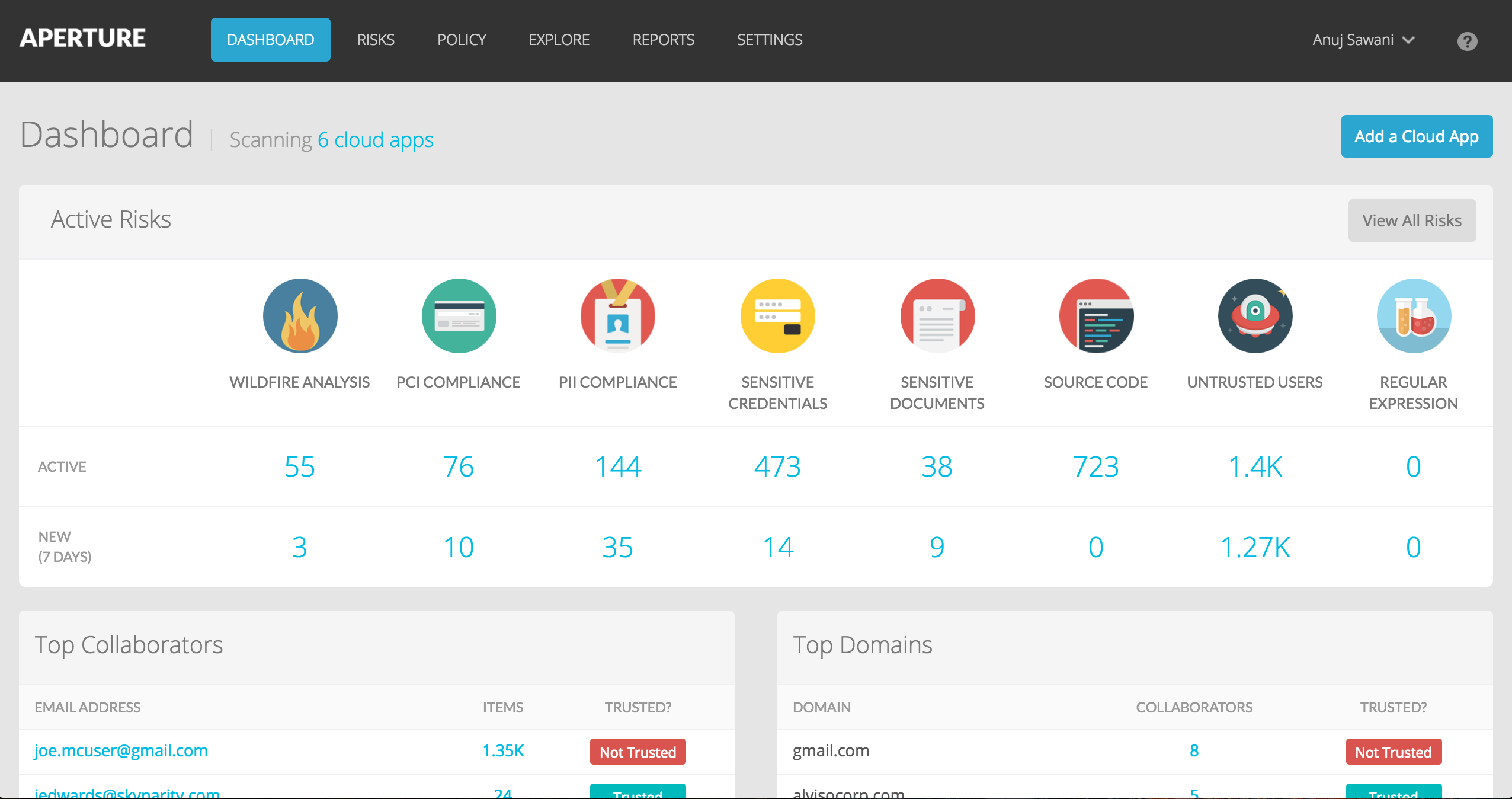 Screenshot Palo Alto Networks 1