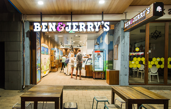 Ben & Jerry's, a retail food company