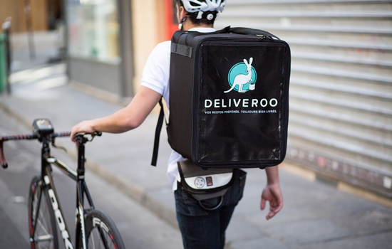 Deliveroo, en leveringsbedrift for restaurantbransjen