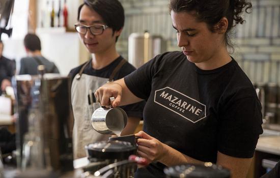 Mazarine Coffee, una empresa de comidas y bebidas
