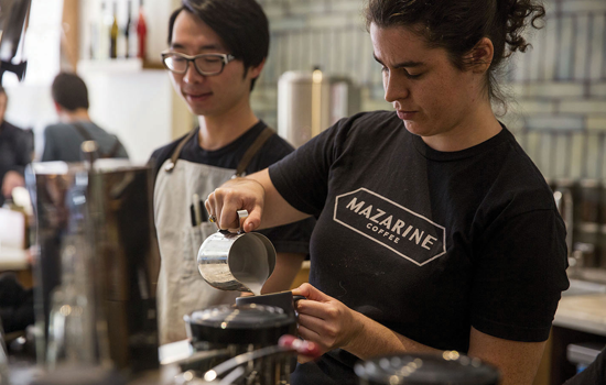 Mazarine Coffee, a food & beverage company