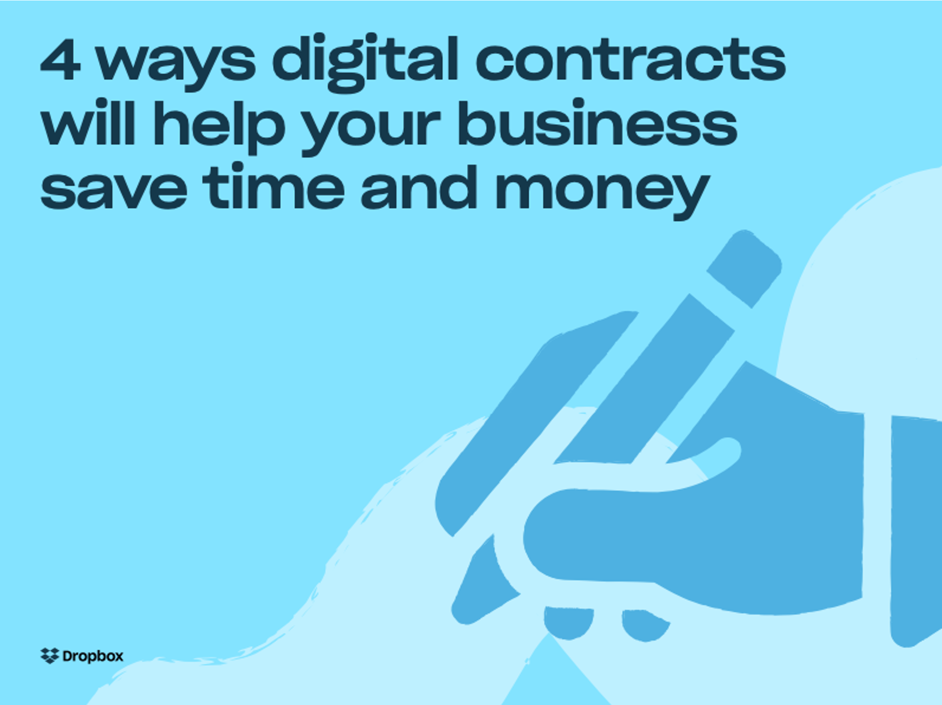 電子署名で時間とコストを節約する 4 つの方法