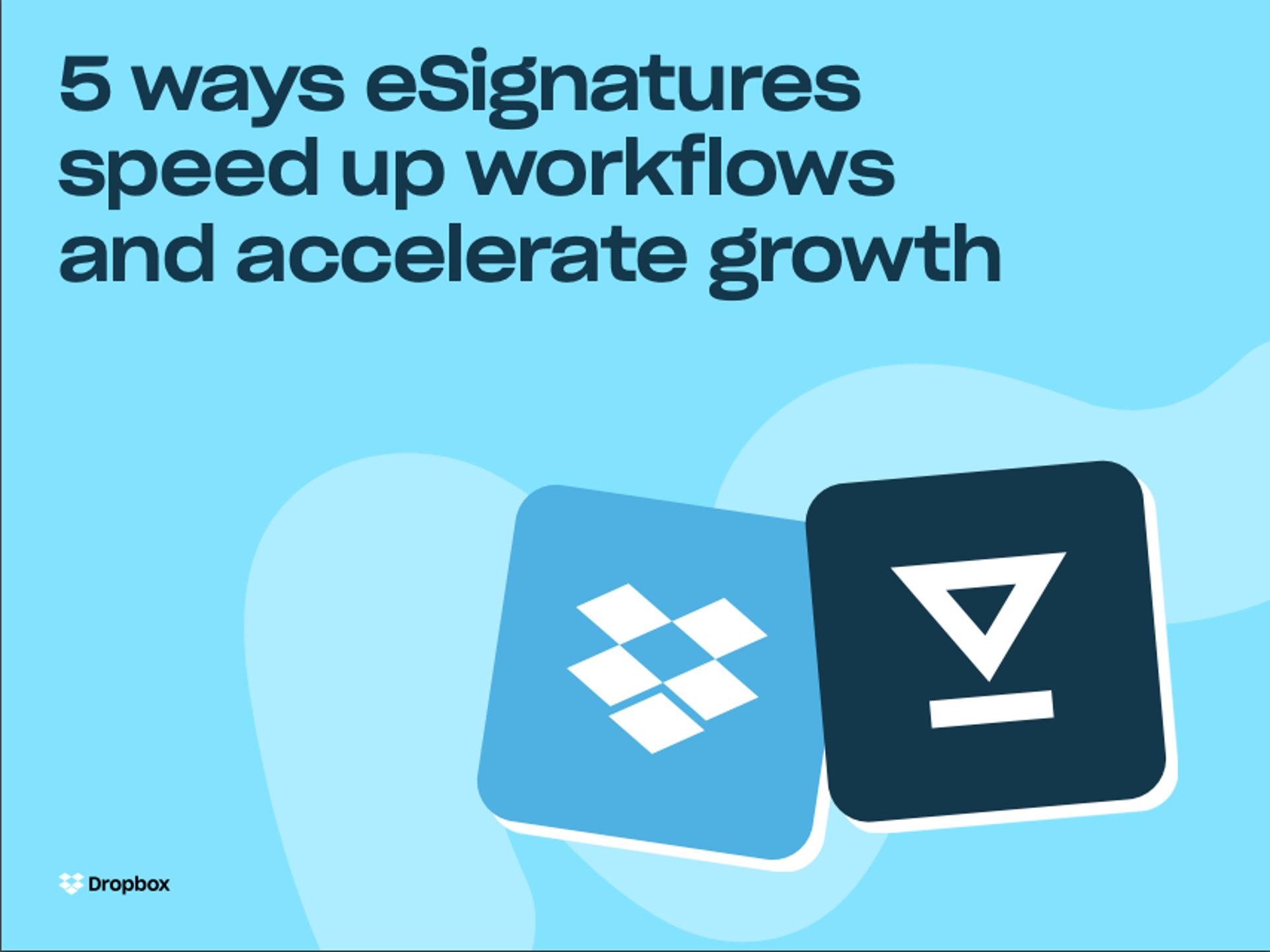 電子署名で成長を加速する 5 つの方法