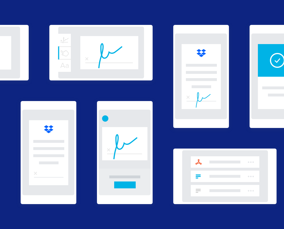HelloSign and Dropbox collaboration