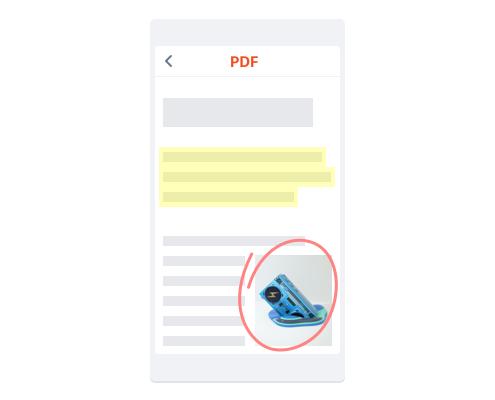 Faça anotações em qualquer arquivo, de qualquer dispositivo