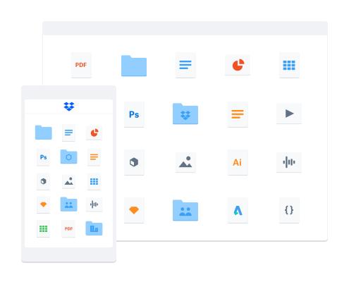 Cloud-lager delt på flere enheder