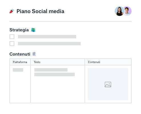 Responsabile della pianificazione dei contenuti e della strategia social media