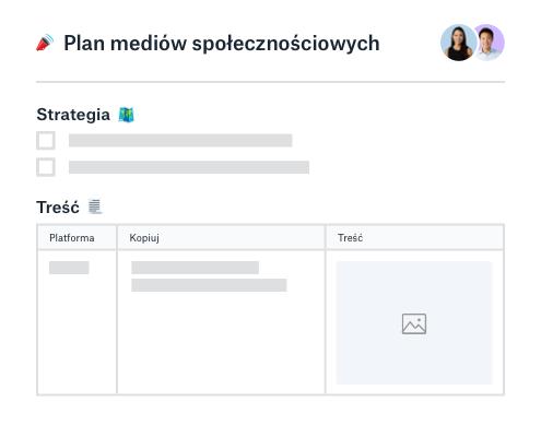 Strategia social media i narzędzie do planowania treści