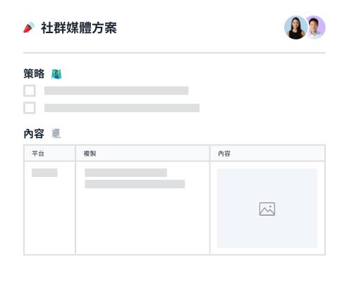 社群媒體策略與內容規劃工具