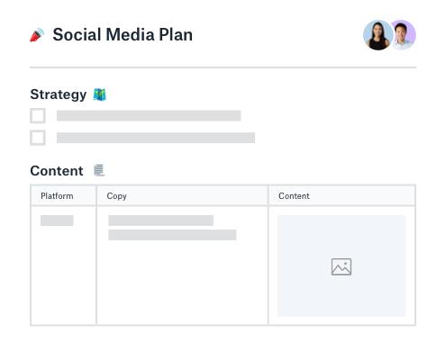 Social Media Scheduling Template from aem.dropbox.com
