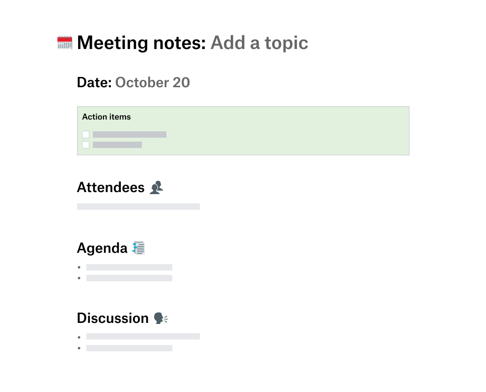 How To Take Notes In A Meeting Template from aem.dropbox.com