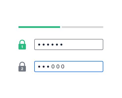 Protezione a 2 fattori su un file condiviso