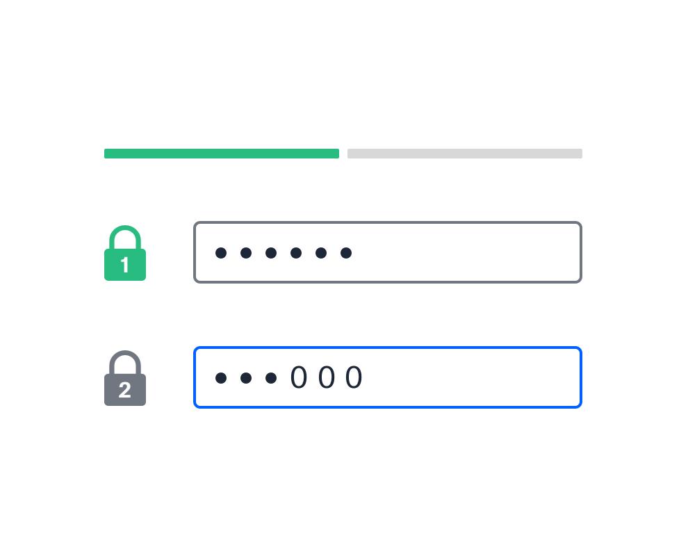 Двухфакторная защита общего файла