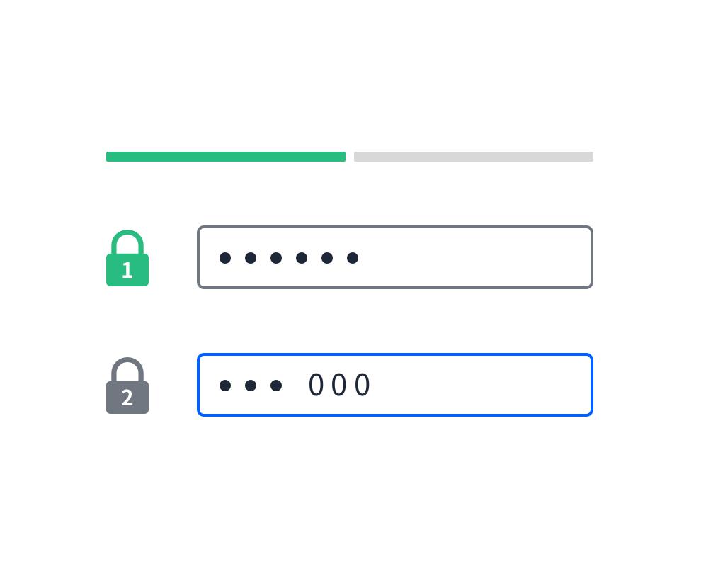 在共享檔案上設定雙因素保護