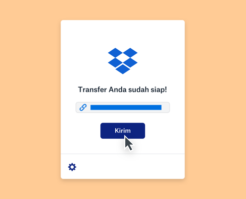 Dropbox Transfer untuk berbagi file besar