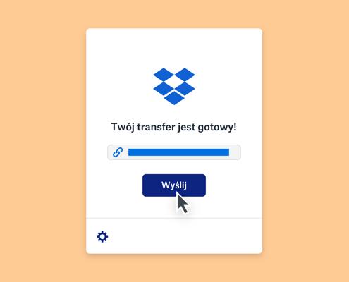 Dropbox Transfer służy do udostępniania dużych plików