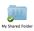 Mac shared folder