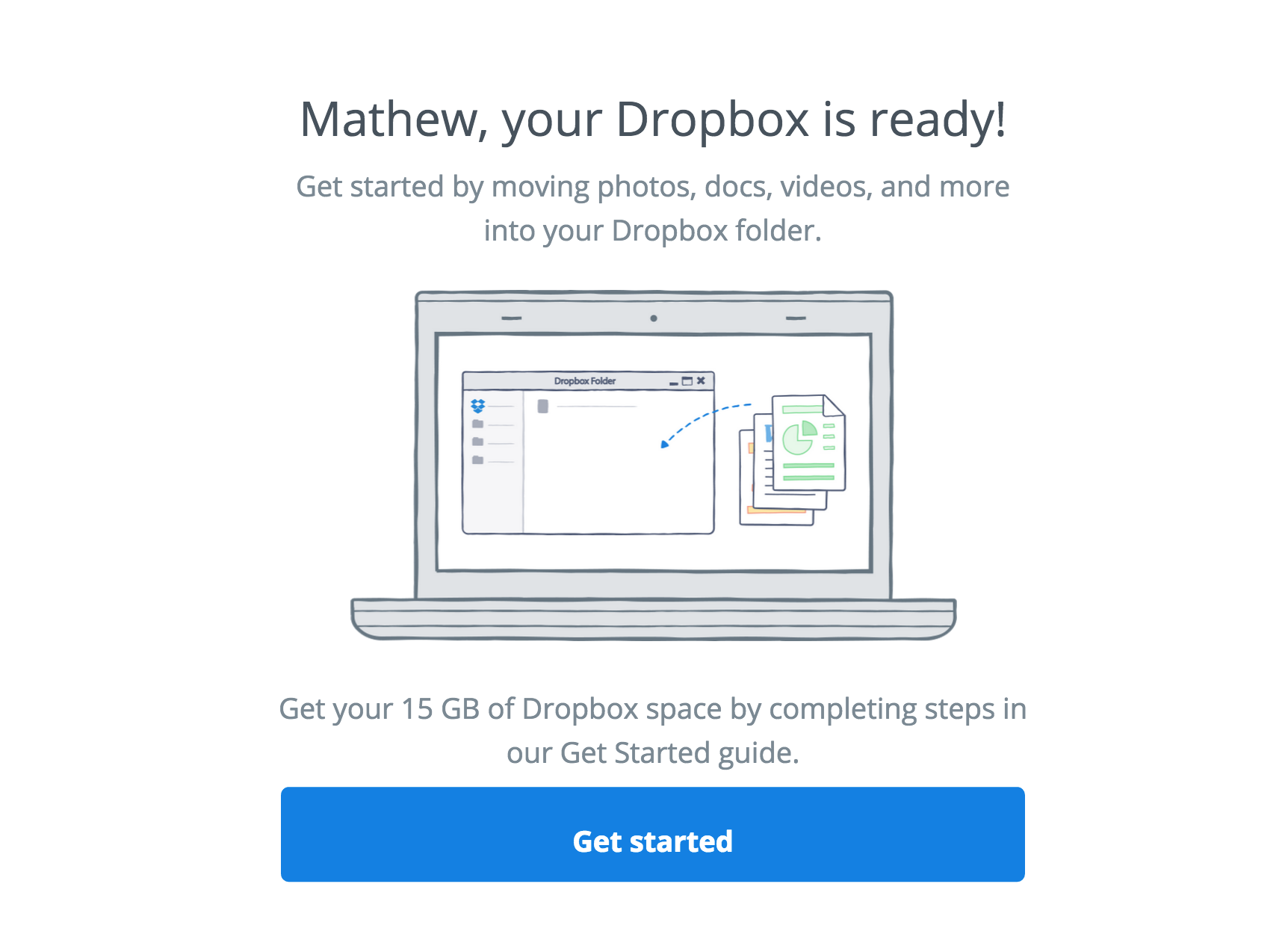 Link your Acer computer to Dropbox