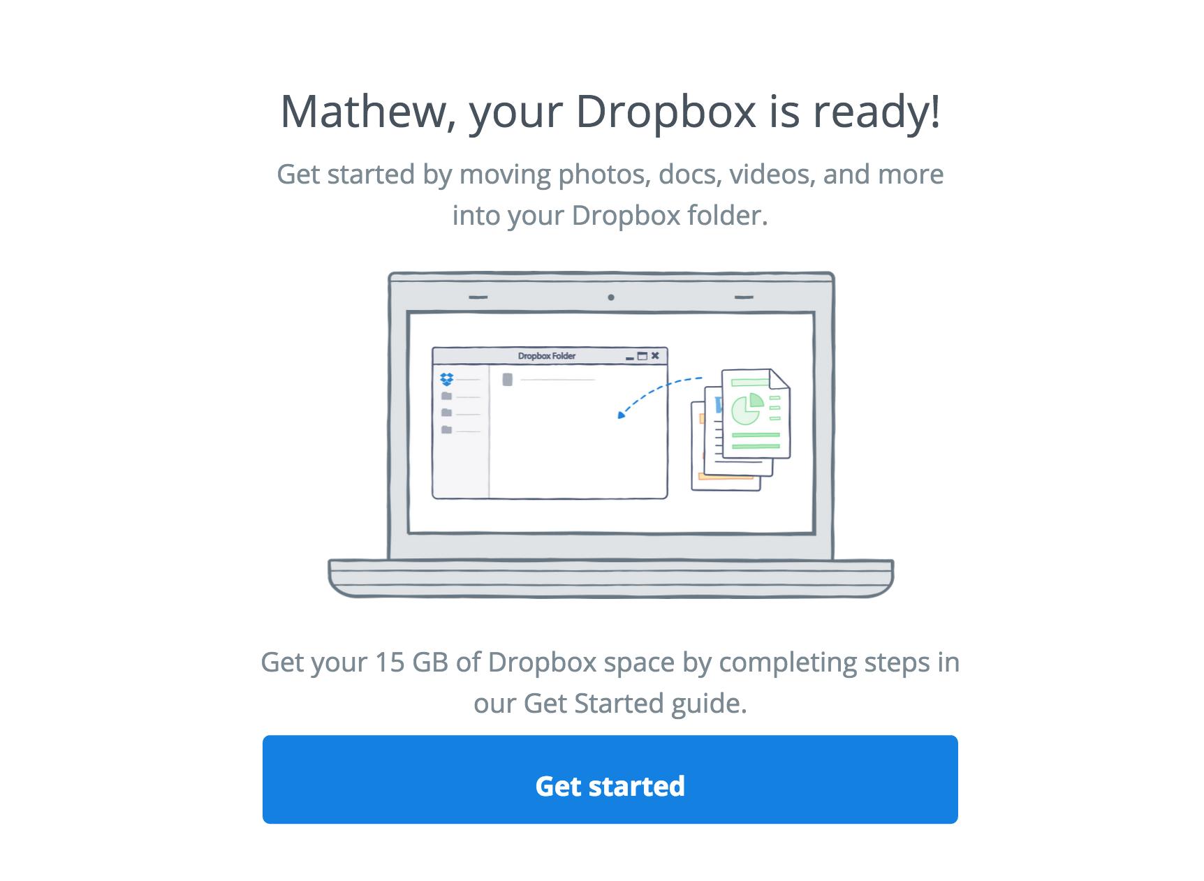 將我的 Acer 電腦連結至 Dropbox 帳戶