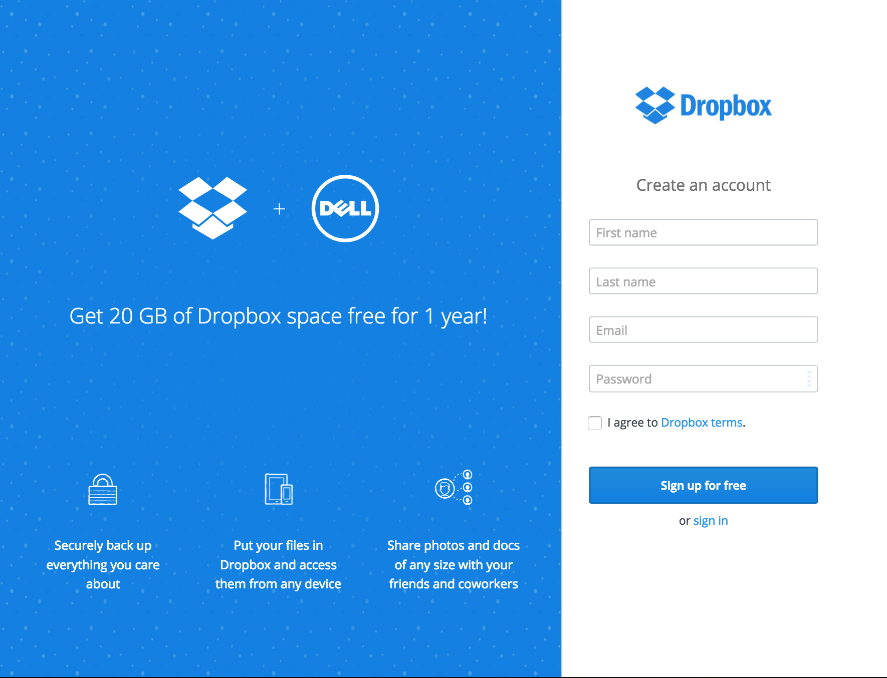 Is My Dell Device Eligible For The Dropbox Space Promotion