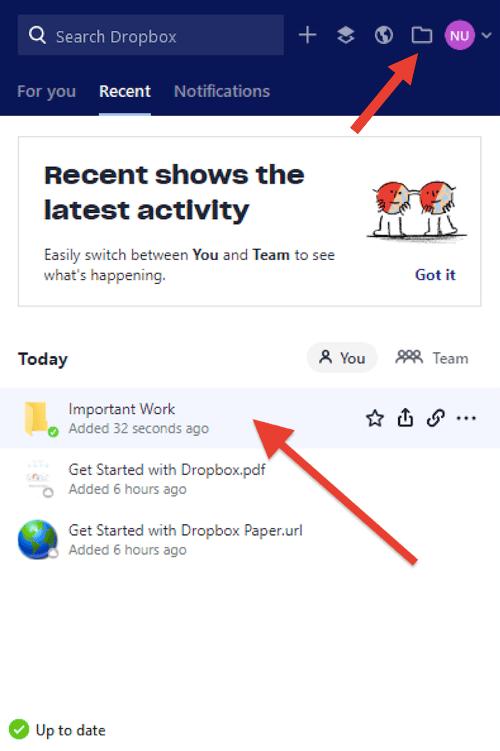 Accessing desktop app